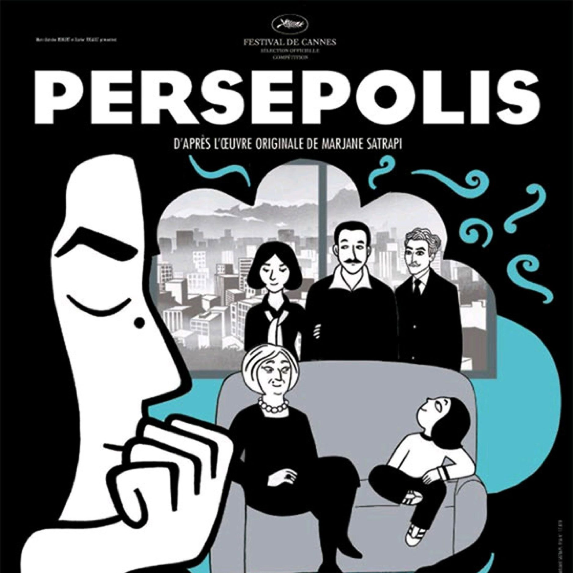 This French-Iranian-American, Oscar-nominated animated film was based on Marjane Satrapi's autobiographical novel of the same name. It follows a girl as she comes of age during the Iranian Revolution. Because if its critical lens, the Iranian government released complaints, it was initially banned in Lebanon, and it was dropped from the Bangkok International Film Festival.