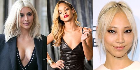 11 Unnatural Blondes Who Embrace the Lighter Side