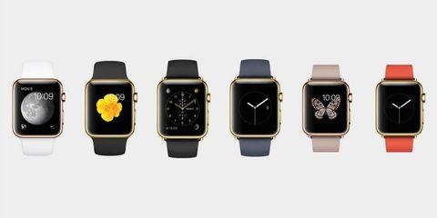 Yellow, Watch, Font, Watch accessory, Metal, Black, Rectangle, Brand, Grey, Technology,