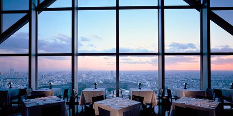 "The <a href=""http://tokyo.park.hyatt.com/ja/hotel/dining/NewYorkBar.html?itemDesc=fboutlet&amp;itemId=1001058"" target=""_blank"">New York Bar at the Tokyo Park Hyatt</a> is something of a mecca for film buffs, who will be familiar with its glass backdrop and mood lighting from Sofia Coppola's Lost in Translation. Just as classy in real life as it is in the film, the bar is frequented by punters who come for the view but stay for the jazz music, which is live seven days a week."