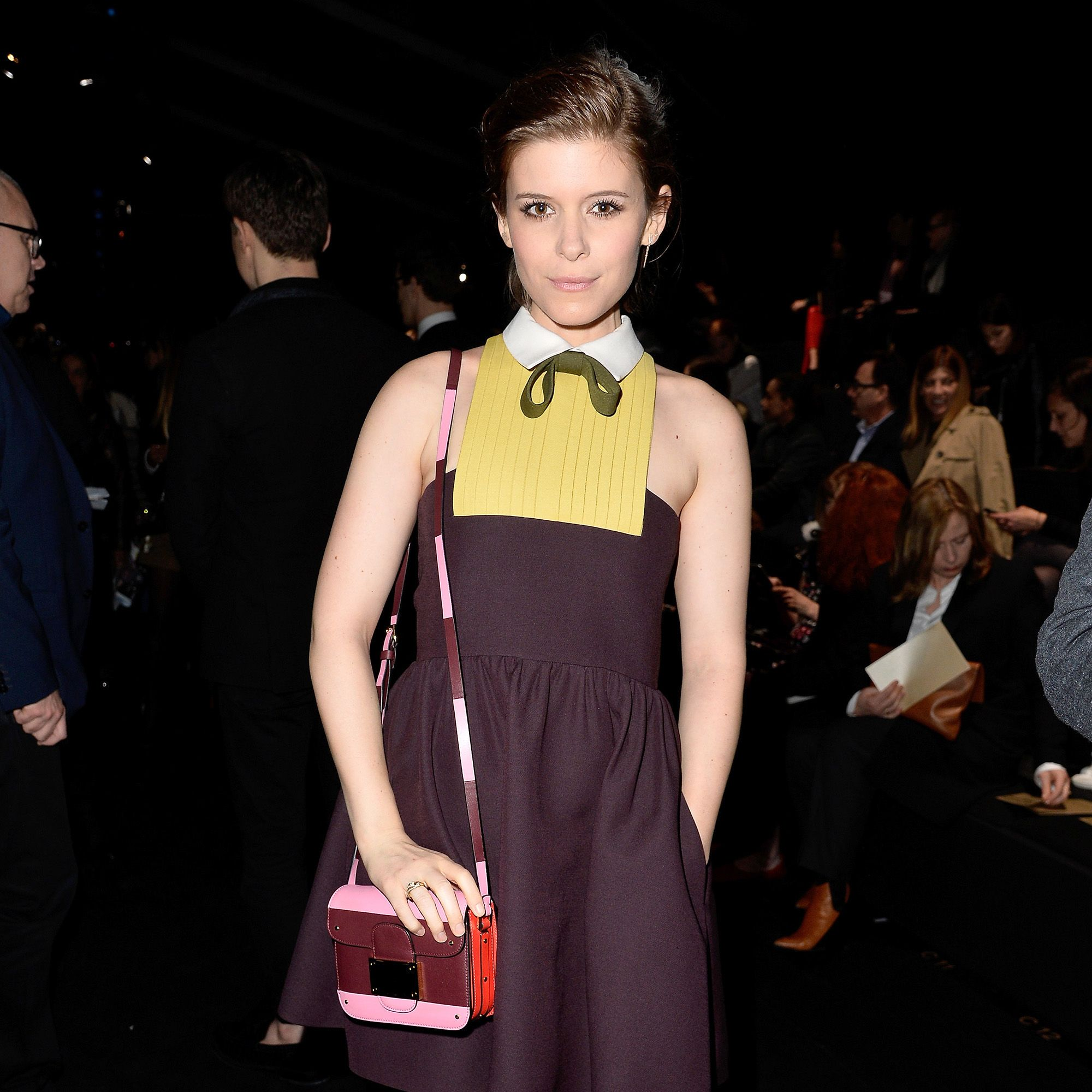 PARIS, FRANCE - MARCH 10: Kate Mara attends the Valentino show as part of the Paris Fashion Week Womenswear Fall/Winter 2015/2016 on March 10, 2015 in Paris, France.  (Photo by Pascal Le Segretain/Getty Images)