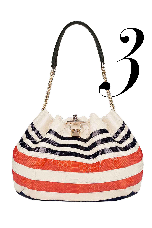 """<em>Sonia Rykiel bag, $5,240, <a href=""""http://www.net-a-porter.com"""">net-a-porter.com</a></em>"""