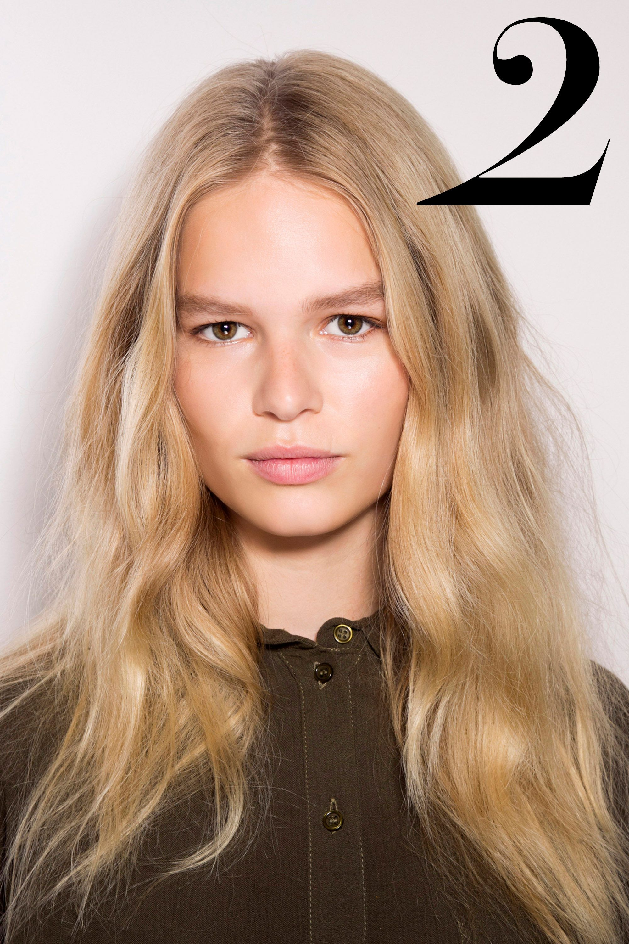 """A modern day Brigitte Bardot, I'm looking to model-of-the-moment Anna Ewers for my beach waves and pinky fresh-faced beauty inspiration as we spring forward."" —Joyann King, Editor Bazaar.com"