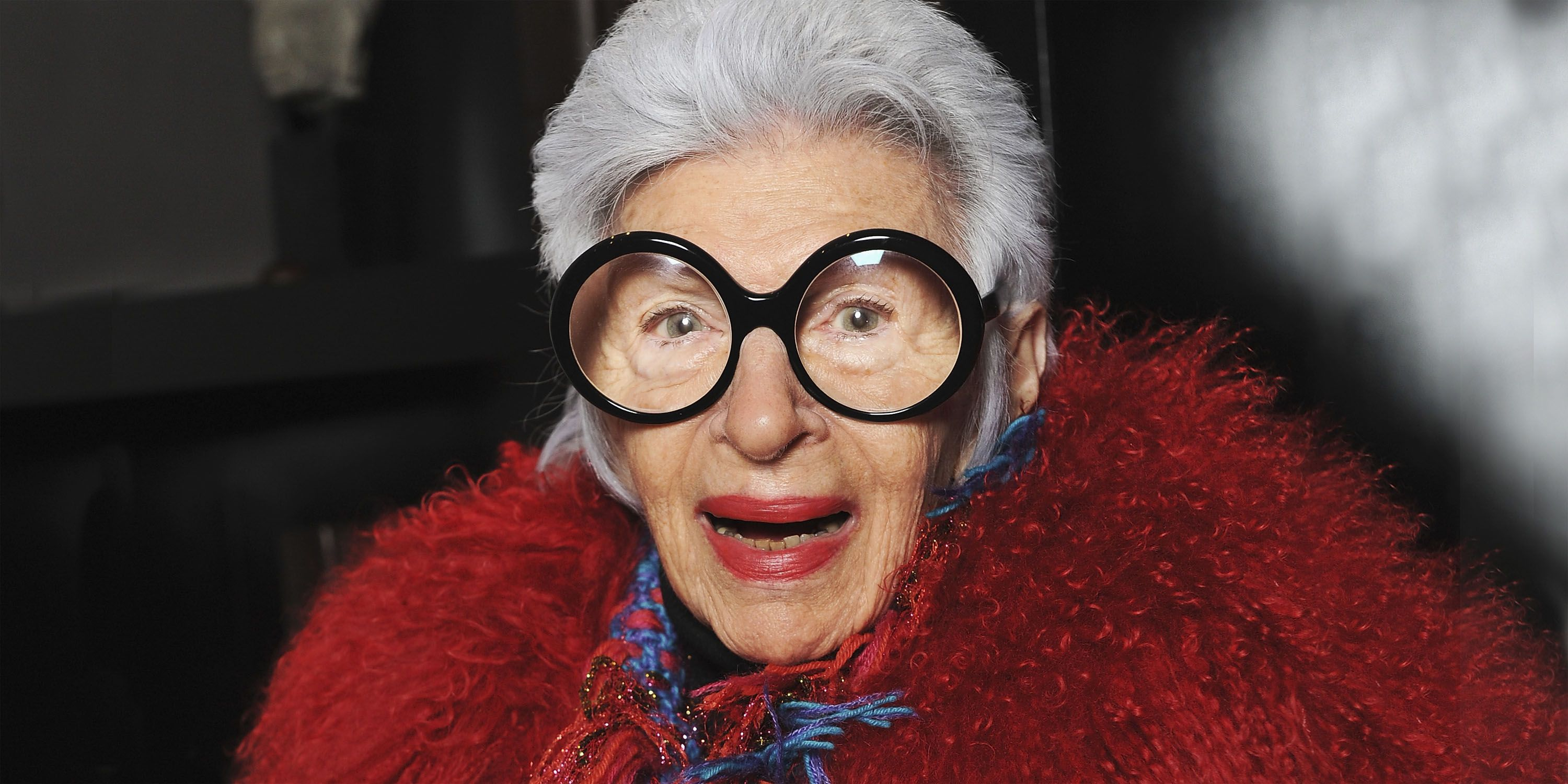2184201f3d Iris Apfel Gives Fashion and Style Advice - Iris Apfel Movie