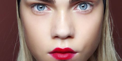 Lip, Cheek, Eye, Brown, Skin, Eyelash, Chin, Forehead, Eyebrow, Red,