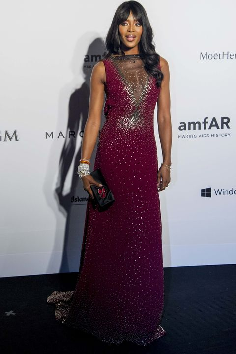 HONG KONG - MARCH 14:  Model Naomi Campbell arrives on the red carpet during the 2015 amfAR Hong Kong gala at Shaw Studios on March 14, 2015 in Hong Kong.  (Photo by Moses Ng/Getty Images)