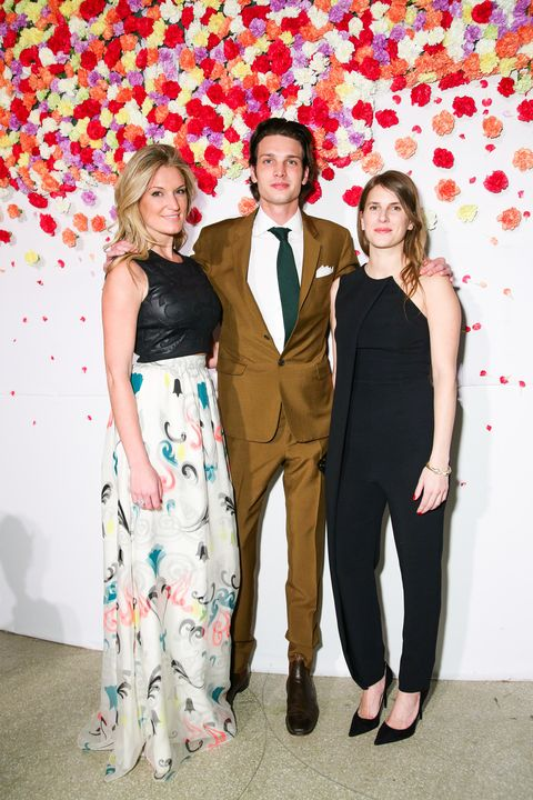 (wearing DAVID YURMAN), Alexandra Economou, Dylan Brant, Sarah Arison