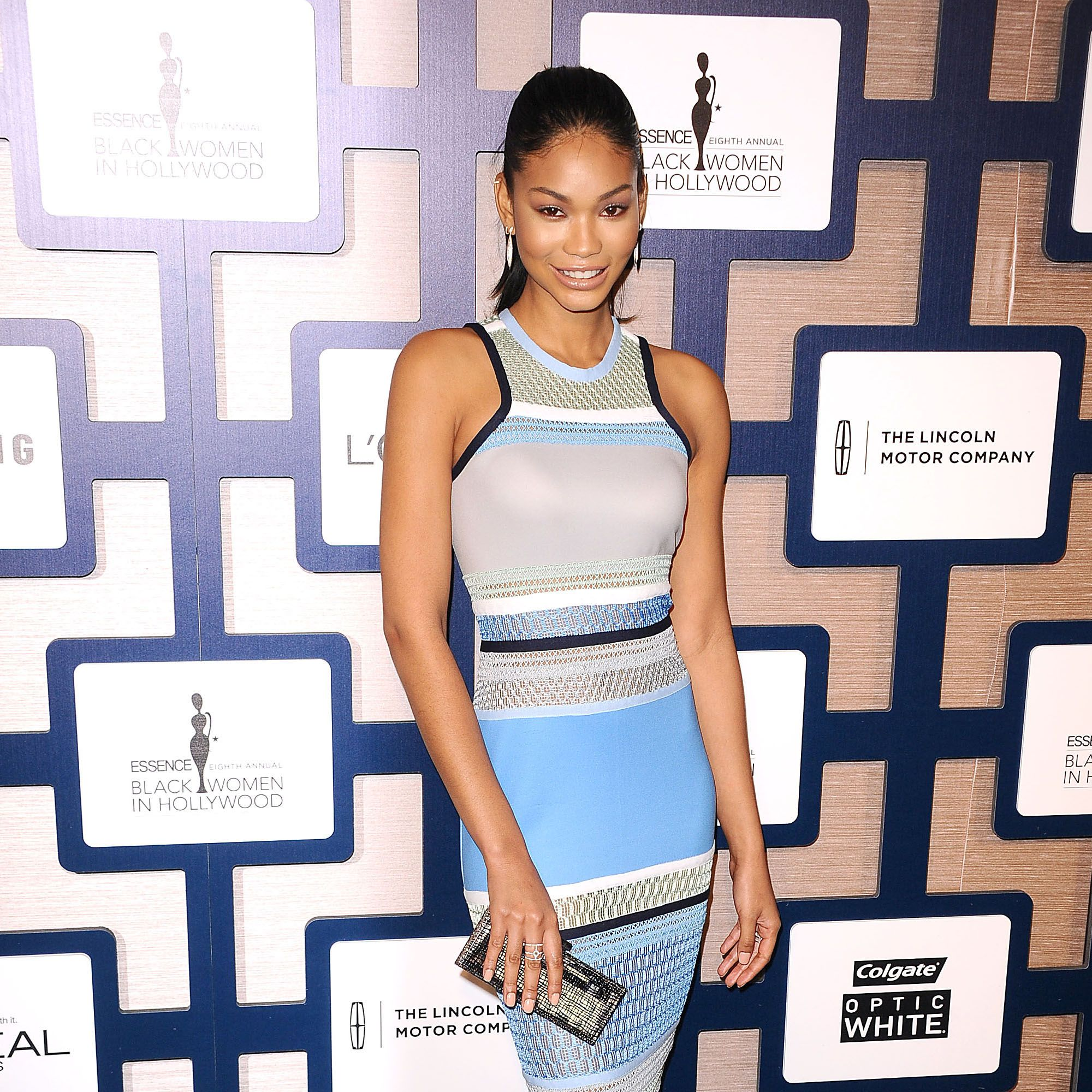 BEVERLY HILLS, CA - FEBRUARY 19:  Model Chanel Iman attends the 8th annual ESSENCE Black Women In Hollywood luncheon at the Beverly Wilshire Four Seasons Hotel on February 19, 2015 in Beverly Hills, California.  (Photo by Jason LaVeris/FilmMagic)