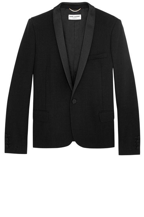 <strong>Saint Laurent by Hedi Slimane</strong> jacket, $3,490, 212-980-2970.