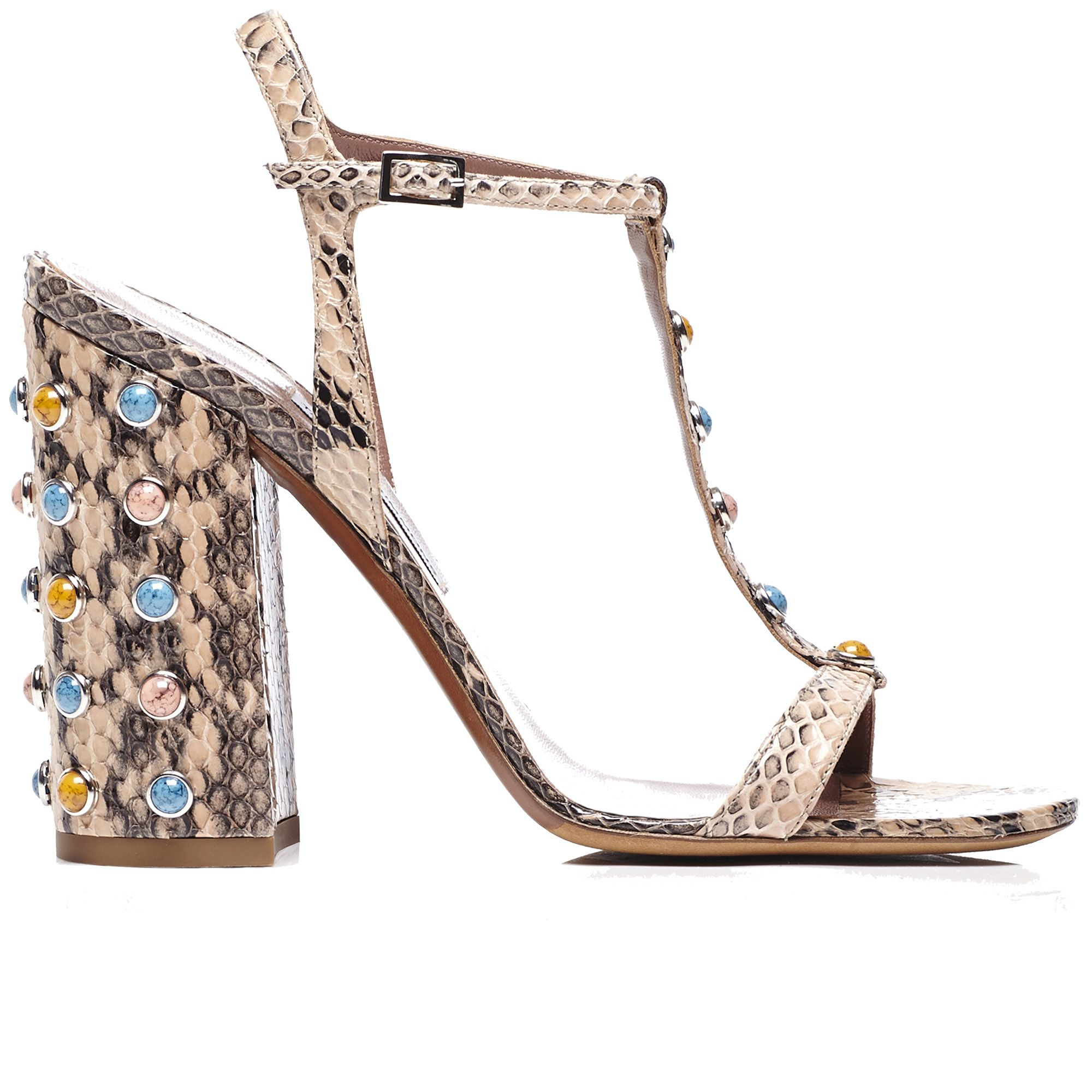 "<strong>Tabitha Simmons </strong>sandal, similar styles available at <a target=""_blank"" href=""http://shop.harpersbazaar.com/designers/tabitha-simmons/"">shopBAZAARcom</a>."