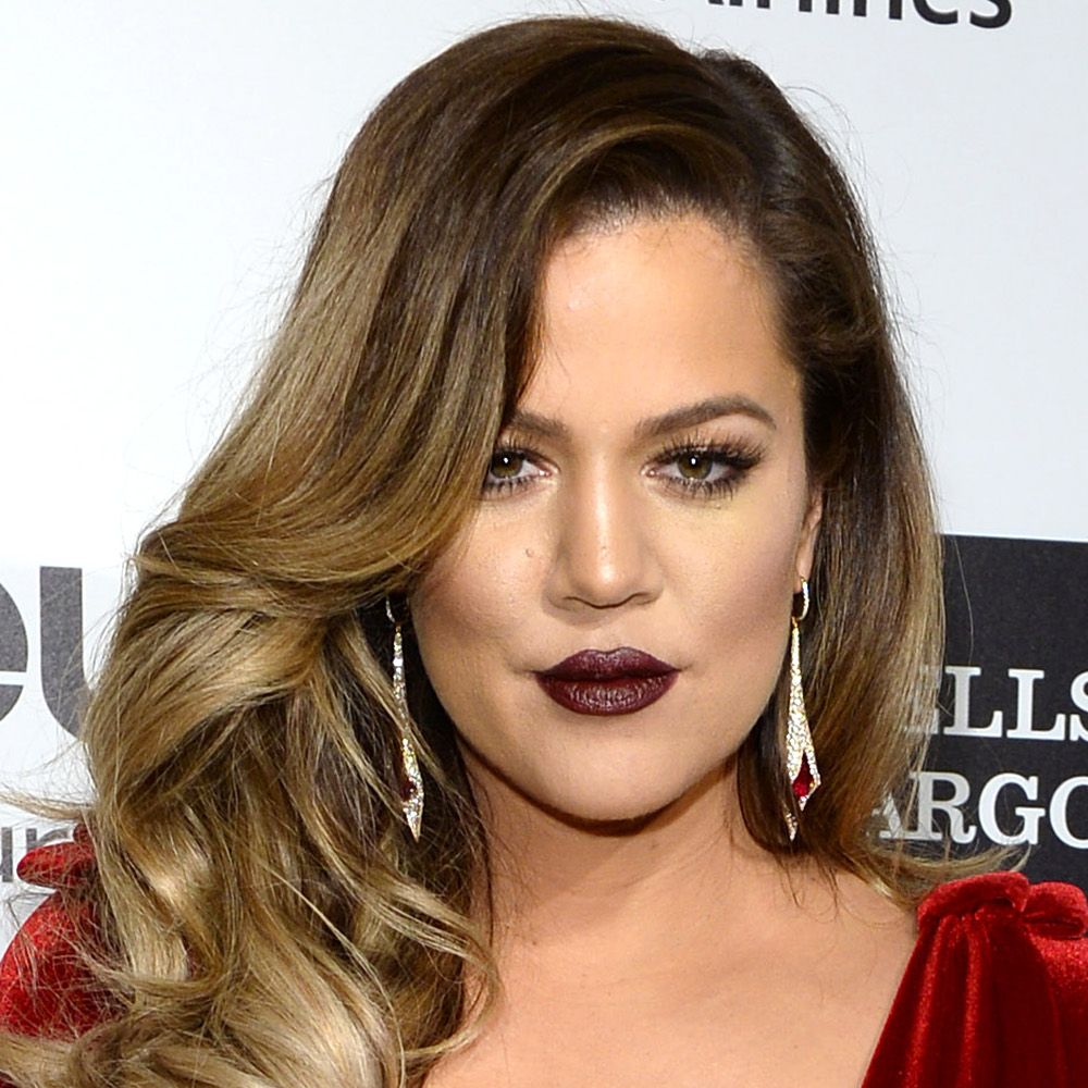 WEST HOLLYWOOD, CA - MARCH 02:  Khloe Kardashian arrives for the 22nd Annual Elton John AIDS Foundation's Oscar Viewing Party held at West Hollywood Park on March 2, 2014 in West Hollywood, California.  (Photo by Karwai Tang/WireImage)