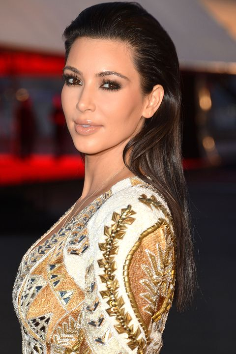 "CANNES, FRANCE - MAY 23:  Kim Kardashian attends the ""Cruel Summer"" Premiere during the 65th Annual Cannes Film Festival at Palm Beach on May 23, 2012 in Cannes, France.  (Photo by George Pimentel/WireImage)"