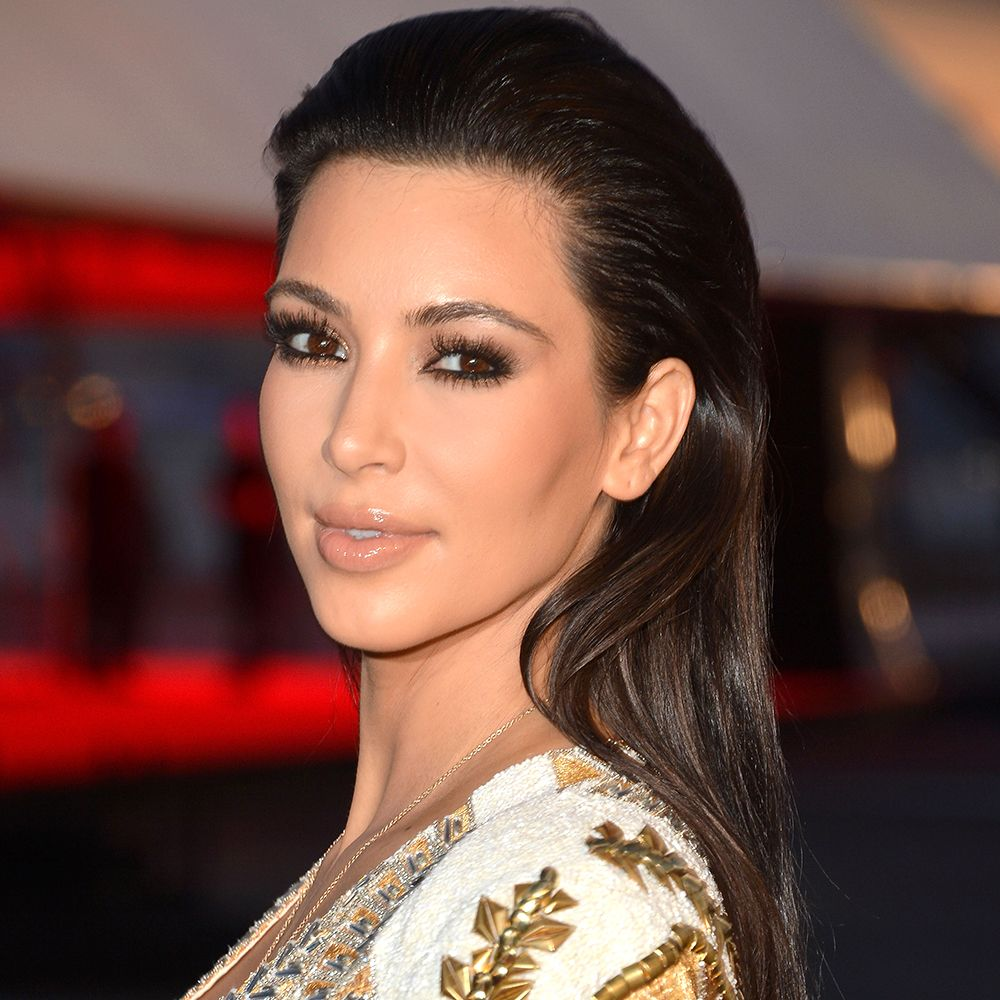 """CANNES, FRANCE - MAY 23:  Kim Kardashian attends the """"Cruel Summer"""" Premiere during the 65th Annual Cannes Film Festival at Palm Beach on May 23, 2012 in Cannes, France.  (Photo by George Pimentel/WireImage)"""