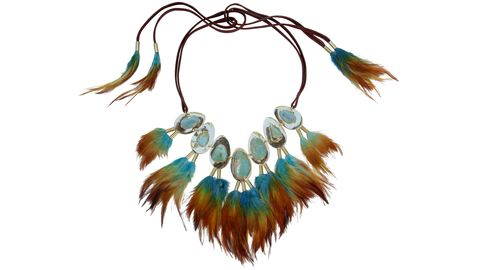 "<p><strong>Lisa Eisner Jewelry</strong> necklace, $10,000, <a target=""_blank"" href=""http://lisaeisnerjewelry.com/collection.html"">lisaeisnerjewelry.com</a>.</p>"