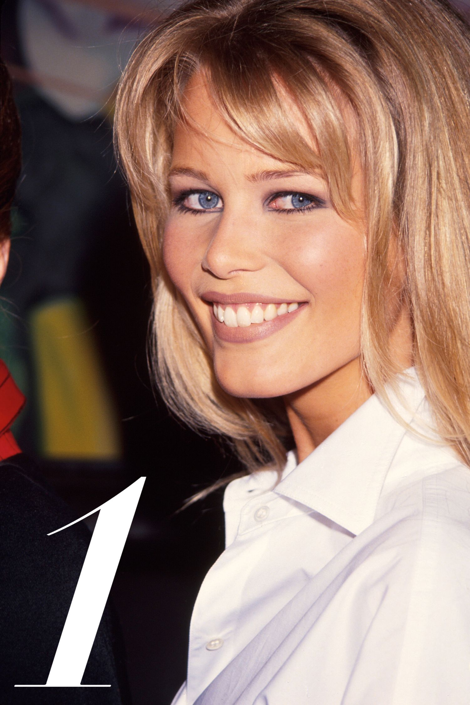 Model Claudia Schiffer.  (Photo by Time Life Pictures/DMI/The LIFE Picture Collection/Getty Images)