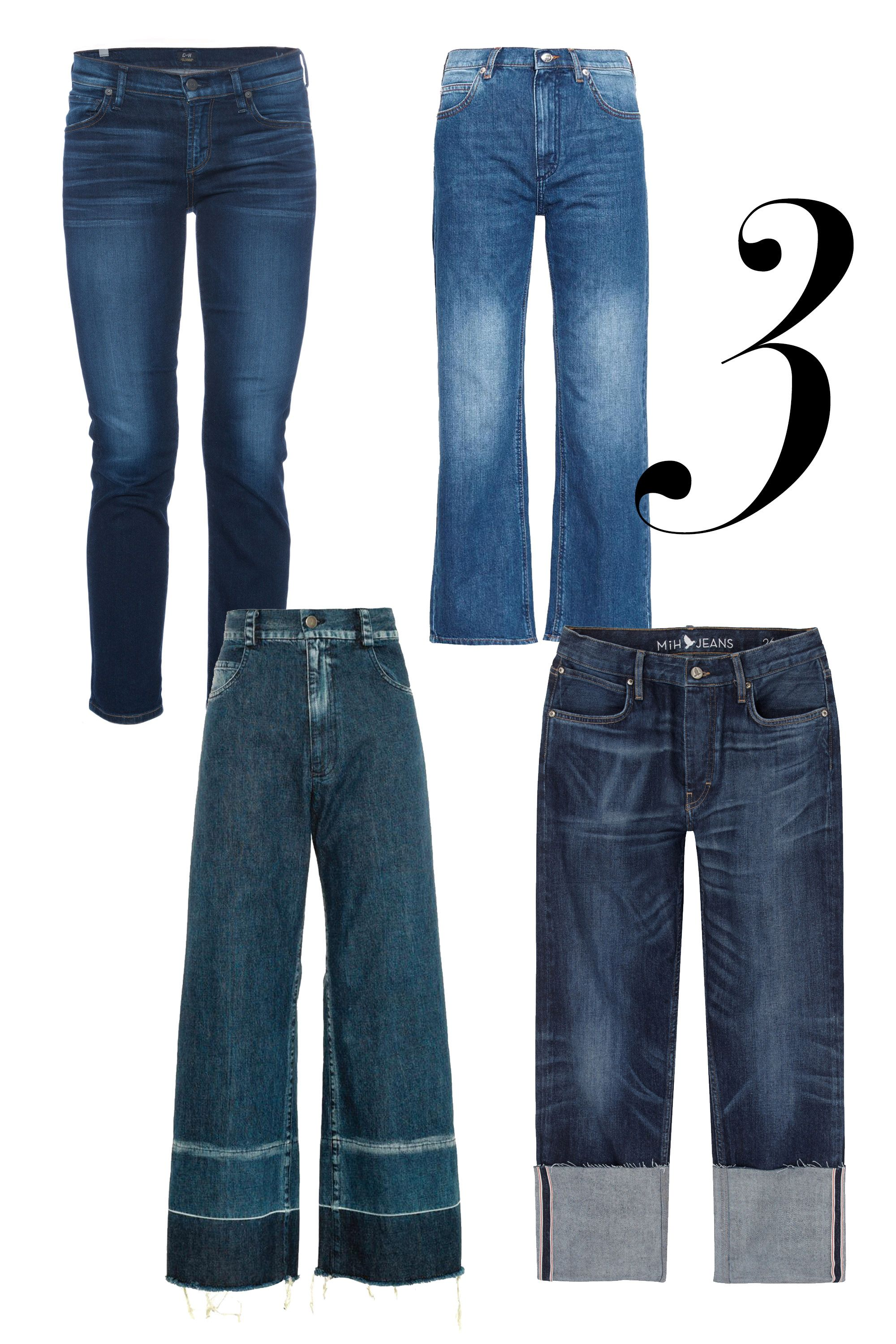 "One of the newest ideas in denim lives just slightly above the ankle.  <em>See by Chloe jeans, $228, <a target=""_blank"" href=""http://www.matchesfashion.com/product/1000001?country=USA&currency=USD&indcurrency=USD&vzwty=cgid:16429855617