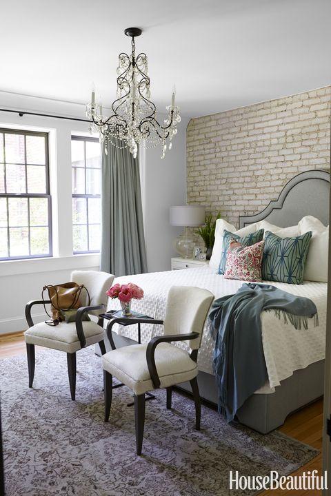 glamorous retreat bedroom
