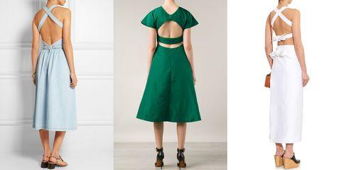 Backless Dress Story