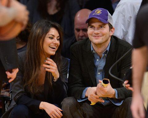 Ashton Kutcher And Mila Kunis Wedding.Mila Kunis Reveals She And Ashton Kutcher Are Married On James