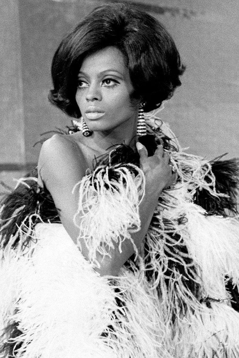 TCB -- Aired 12/9/68 -- Pictured: Singer, Diana Ross of The Supremes  (Photo by Gary Null/NBC/NBCU Photo Bank via Getty Images)