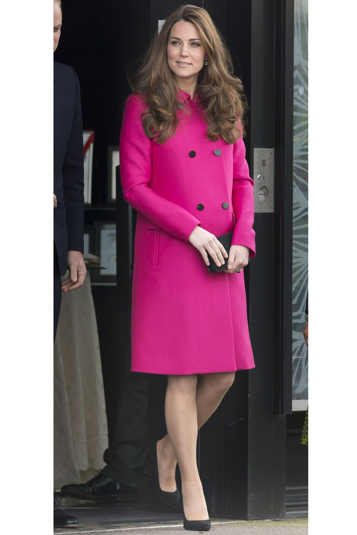 LONDON, ENGLAND - MARCH 27:  Catherine, Duchess of Cambridge visits The Stephen Lawrence Centre on March 27, 2015 in London, England. (Photo by Mark Cuthbert/UK Press via Getty Images)