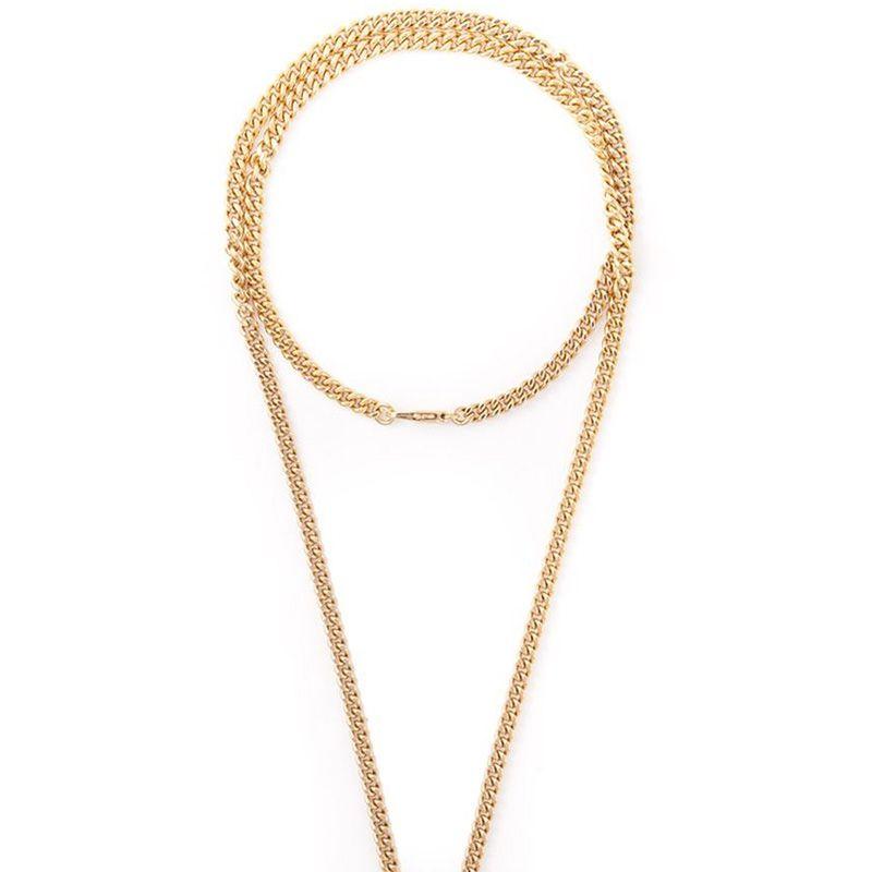 "<strong>Chloé</strong> necklace, $464, <a target=""_blank"" href=""http://www.farfetch.com/shopping/women/chloe-ring-pendant-necklace-item-10895817.aspx?storeid=9388&amp&#x3B;ffref=lp_244_"">farfetch.com.</a>"