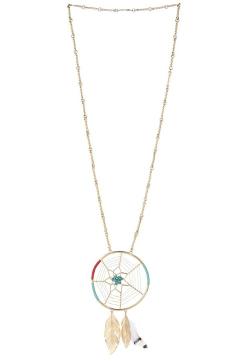 "<strong>Aurélie Bidermann</strong> necklace, $895, <a target=""_blank"" href=""http://www.matchesfashion.com/product/1011531"">matchesfashion.com</a>."