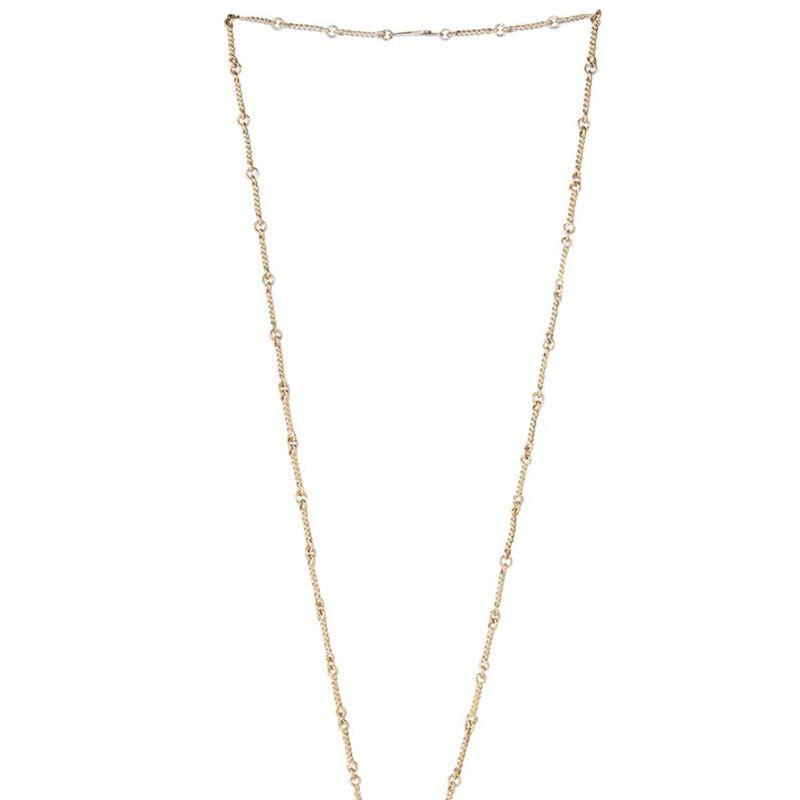 "<strong>Aurélie Bidermann</strong> necklace, $895, <a target=""_blank"" href=""http://www.matchesfashion.com/product/1011531"">matchesfashion.com</a>."