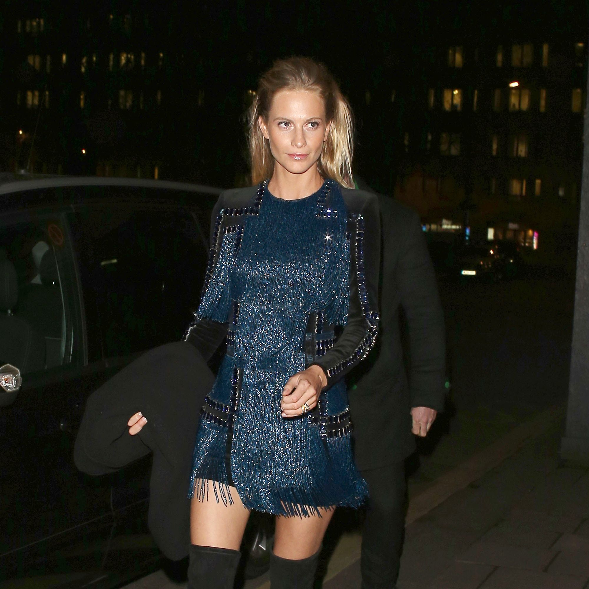 LONDON, UNITED KINGDOM - MARCH 16: Poppy Delevingne attending a party Annabel's club to mark the opening of Balmain's first London store on March 16, 2015 in London, England. (Photo by Mark Robert Milan/GC Images)