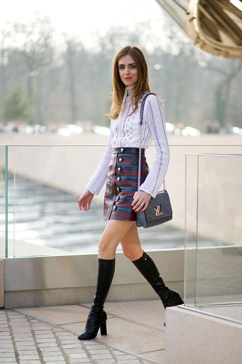 Spring Skirts and Boots , Ease Into Spring in Skirts and