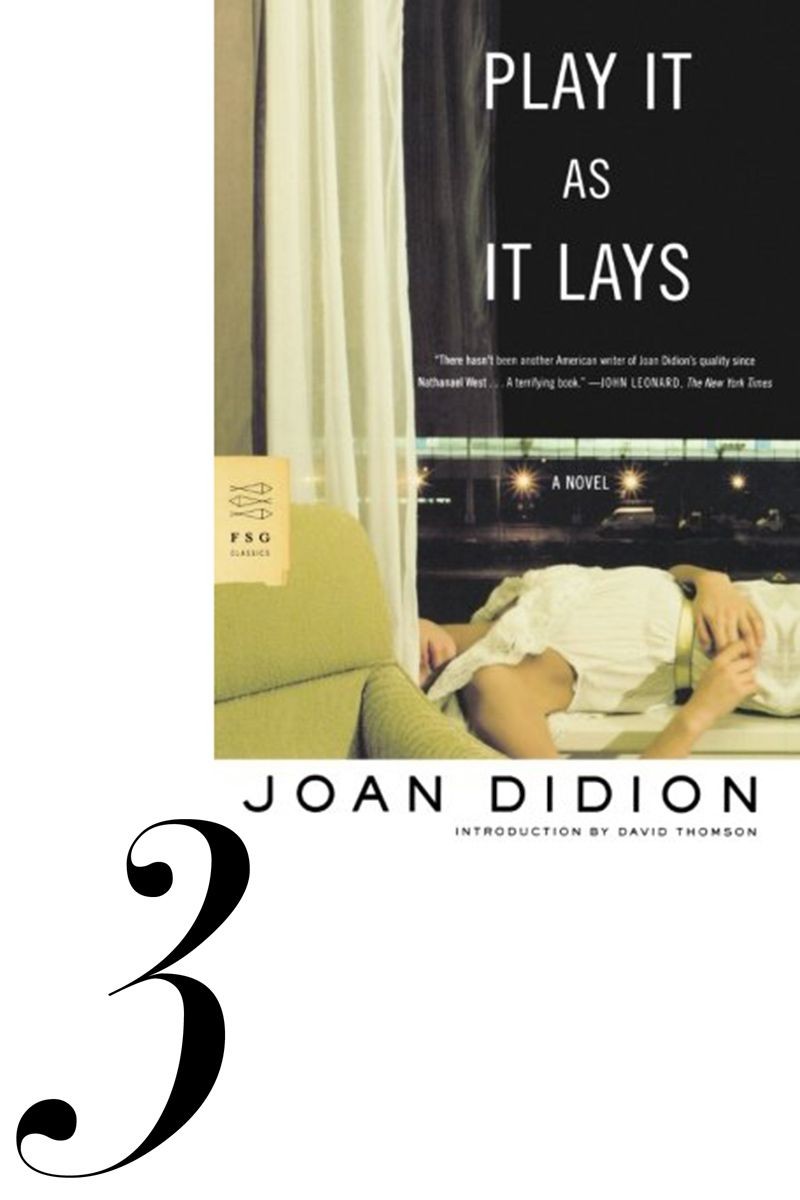 <p>With Joan's recent resurgence as the face of Celine, I'm rereading a favorite, and proof that Didion can take her intensive talents to a novel with bite—set in LA in the 1960s. </p>