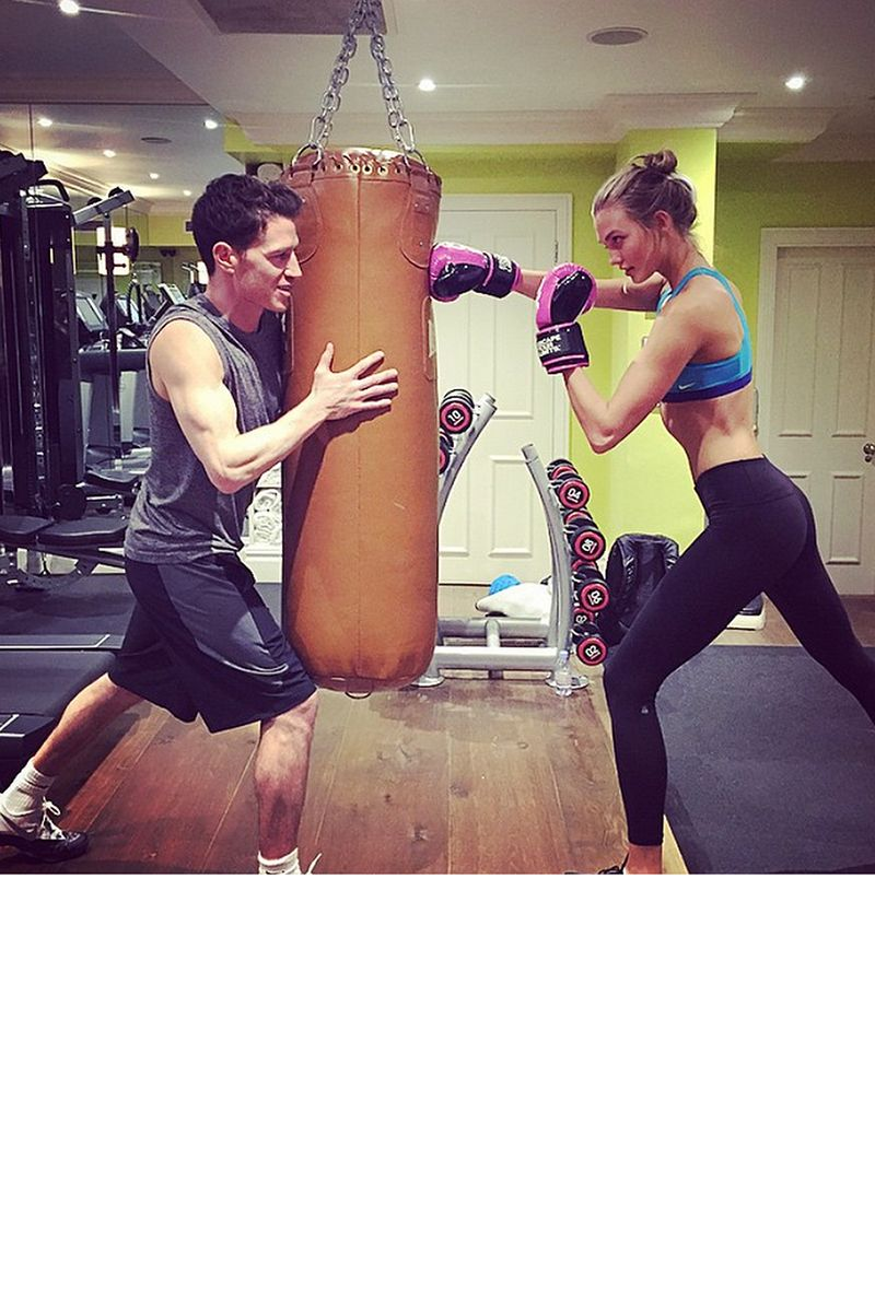 Best Model Workouts On Instagram Karlie Kloss Gigi Hadid Izabel Goulart Workout Pictures