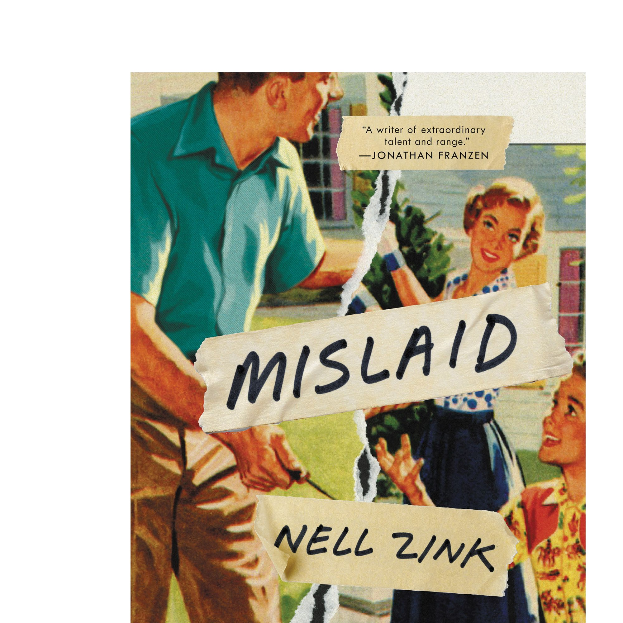 """From the author of <em>The Wallcreeper </em>comes a startlingly original novel about the dissolution of an eccentric American family. <a target=""""_blank"""" href=""""http://www.amazon.com/Mislaid-A-Novel-Nell-Zink/dp/0062364774""""><em>Mislaid</em></a> begins at a university in 1960s Virginia, where an impressionable freshman, Peggy, falls for her professor, and powerful poet, Lee. Her unplanned pregnancy results in an ill-fated marriage and dysfunctional family life. Peggy ultimately flees with her daughter to start anew, leaving her son behind. Years later the children must reconcile with their past and the complexities of race, sexual identity, and desire. <em>Out with Ecco May 19. </em>"""