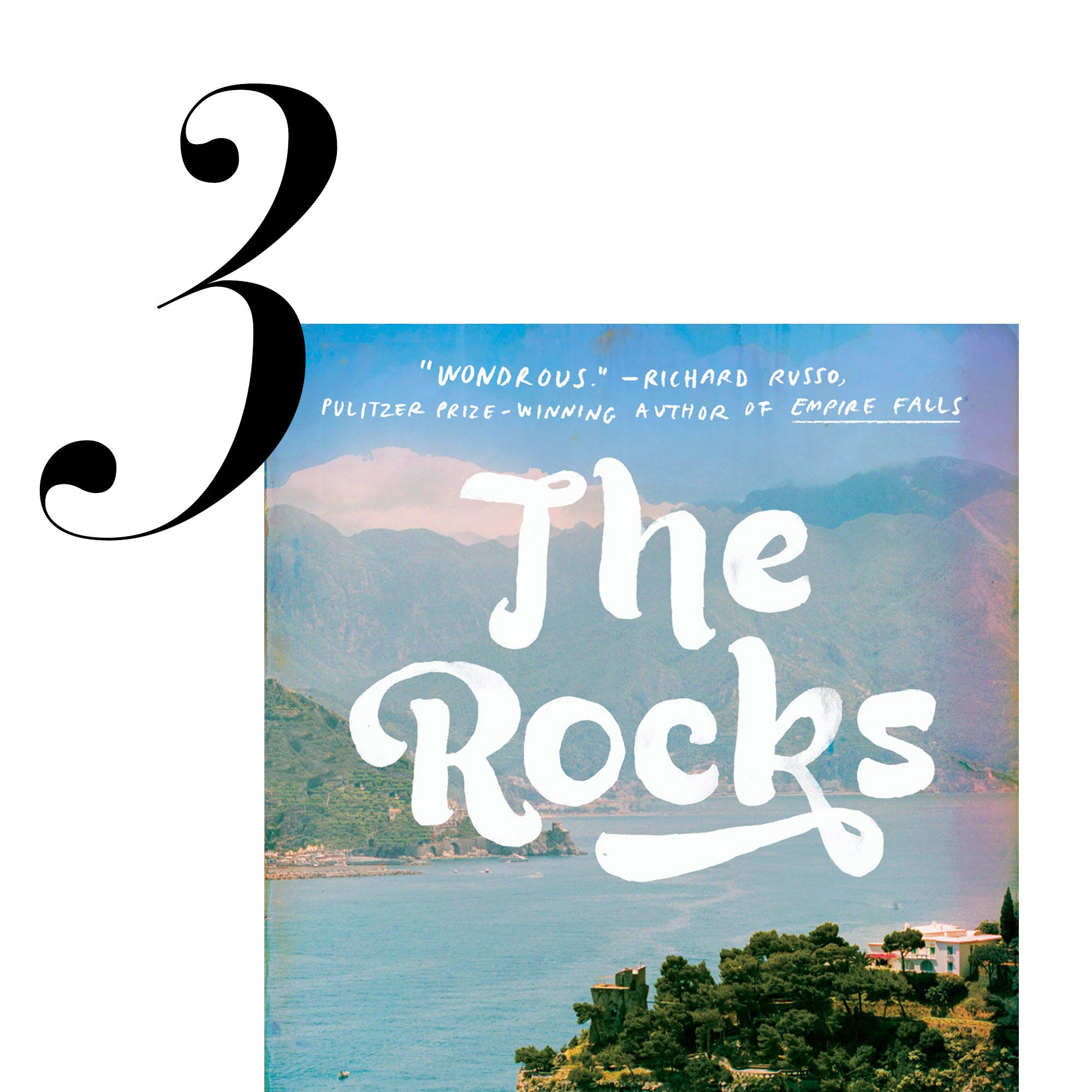 """Loosely based on his own memories of Mediterranean summers in Mallorca, Hollywood screenwriter Peter Nichols's novel <a target=""""_blank"""" href=""""http://www.amazon.com/Rocks-Novel-Peter-Nichols/dp/1594633312/ref=sr_1_1?s=books&amp&#x3B;ie=UTF8&amp&#x3B;qid=1427318530&amp&#x3B;sr=1-1&amp&#x3B;keywords=THE+ROCKS+by+Peter+Nichols""""><em>The Rocks</em></a> is a double love story told in reverse. This page-turner will transport readers to the sunny community of expats at a glamorous seaside resort, where mystery, love, and family legacy are all fiercely intertwined. <em>Out with Random House May 26.</em>"""
