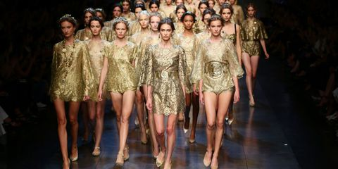 Face, Head, Leg, Dress, Fashion model, Fashion show, Fashion, Beauty, Youth, Runway,