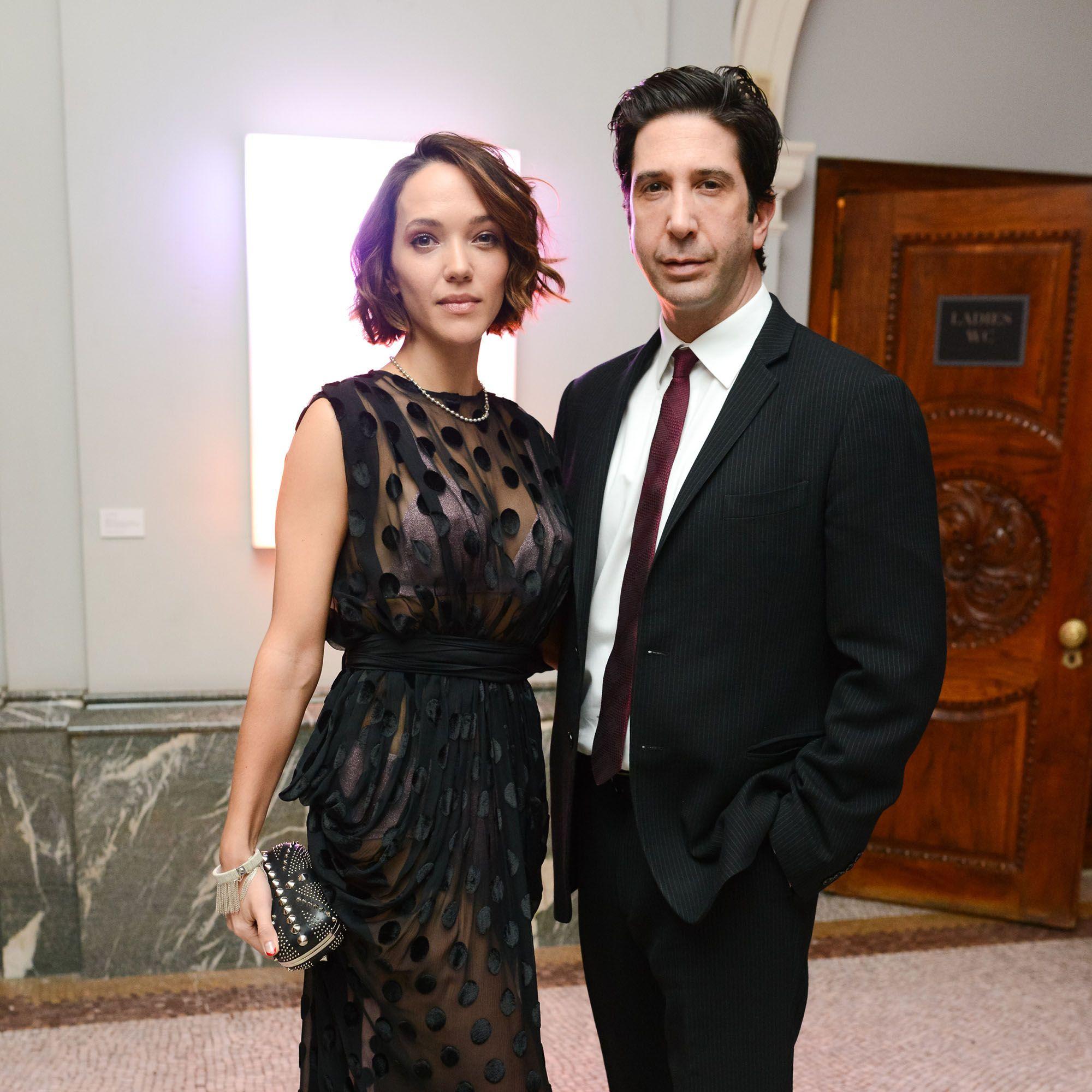 Zoe Buckman, David Schwimmer