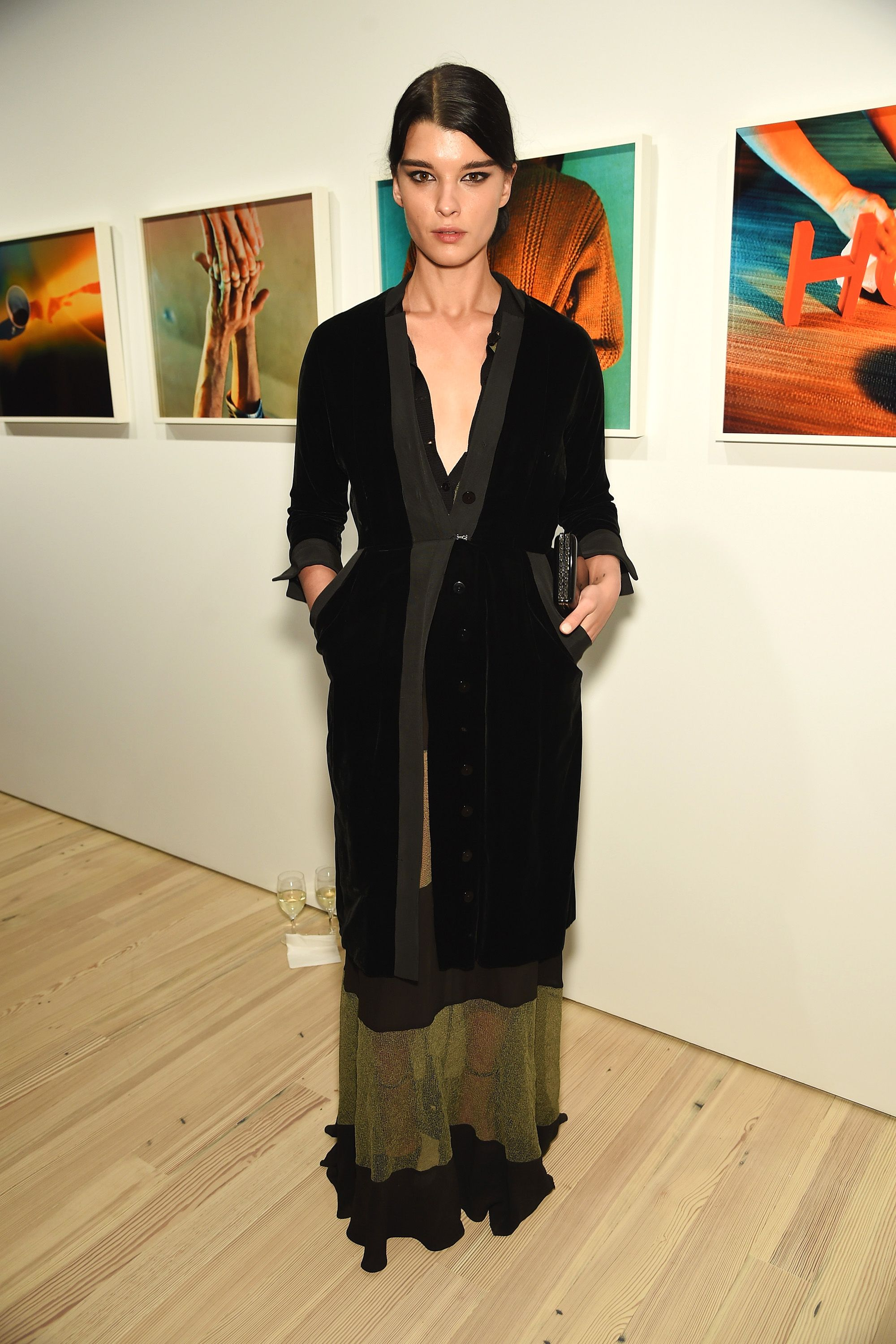 NEW YORK, NY - APRIL 02:  Model Crystal Renn attends Audi's Celebration of partnership with the Whitney Museum on April 2, 2015 in New York City.  (Photo by Dimitrios Kambouris/Getty Images for Audi)