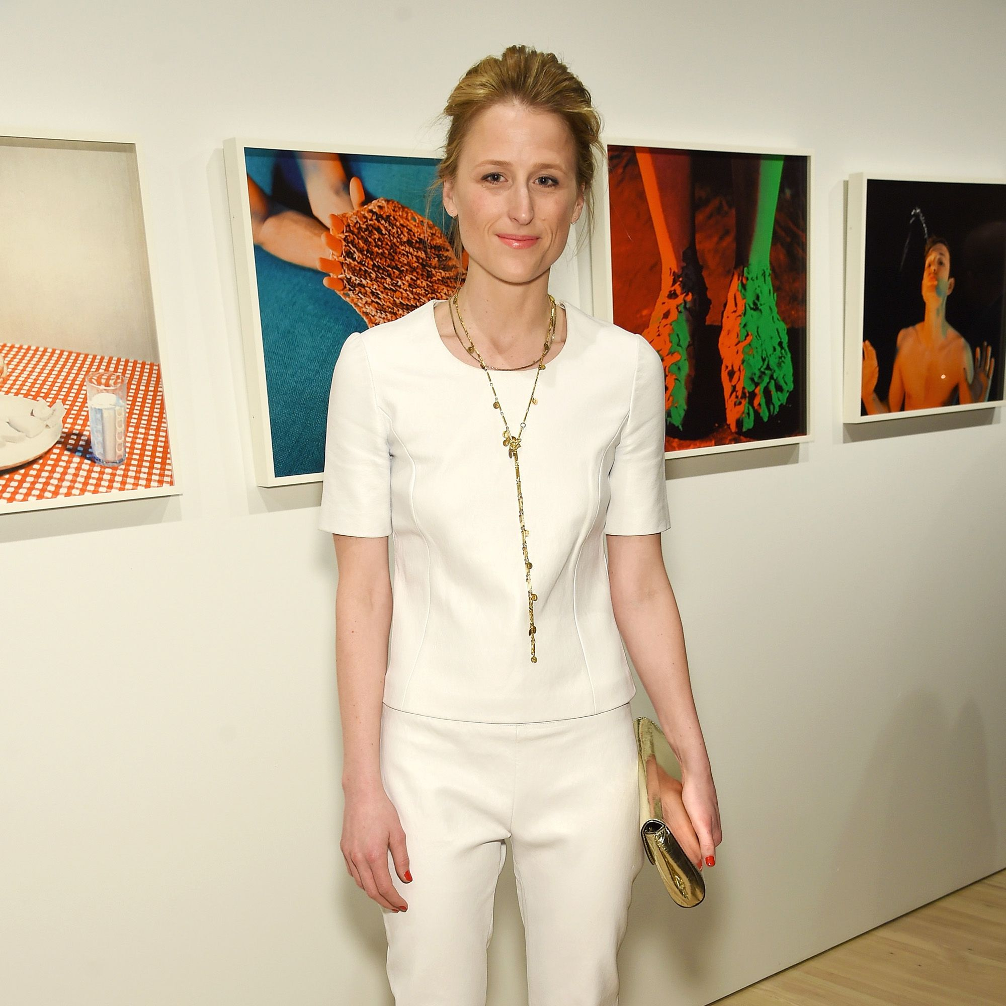 NEW YORK, NY - APRIL 02:  Actress Mamie Gummer attends Audi's Celebration of partnership with the Whitney Museum on April 2, 2015 in New York City.  (Photo by Dimitrios Kambouris/Getty Images for Audi)