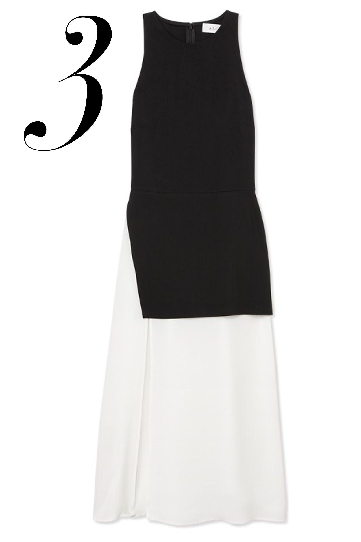 """A.L.C. dress, $525, <a href=""""http://shop.harpersbazaar.com/designers/a-l-c/mer-dress/"""" target=""""_blank"""">ShopBAZAAR</a>."""