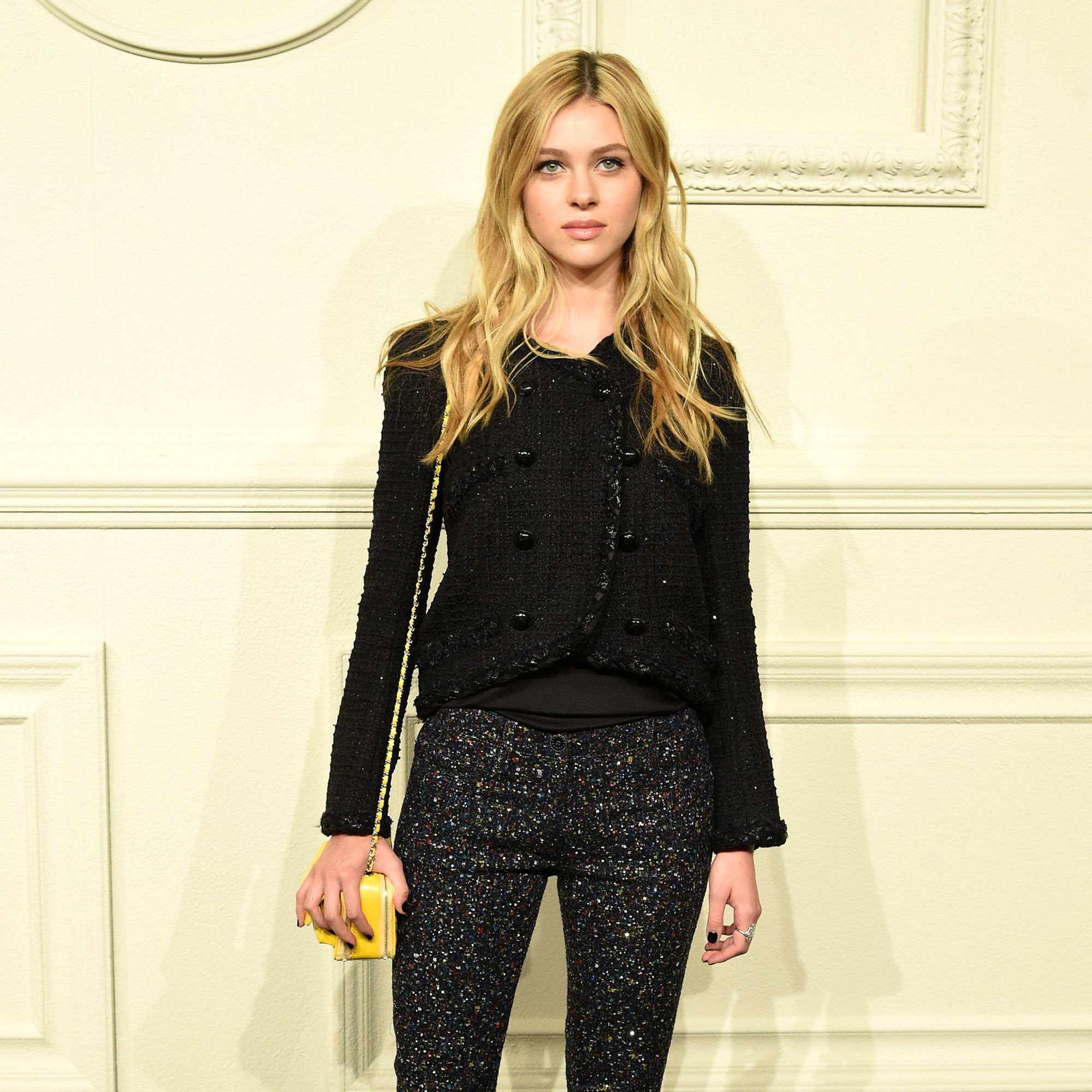 NEW YORK, NY - MARCH 31:  Nicola Peltz attends the CHANEL Paris-Salzburg 2014/15 Metiers d'Art Collection in New York City at the Park Avenue Armory on March 31, 2015 in New York City.  (Photo by Andrew H. Walker/WireImage)