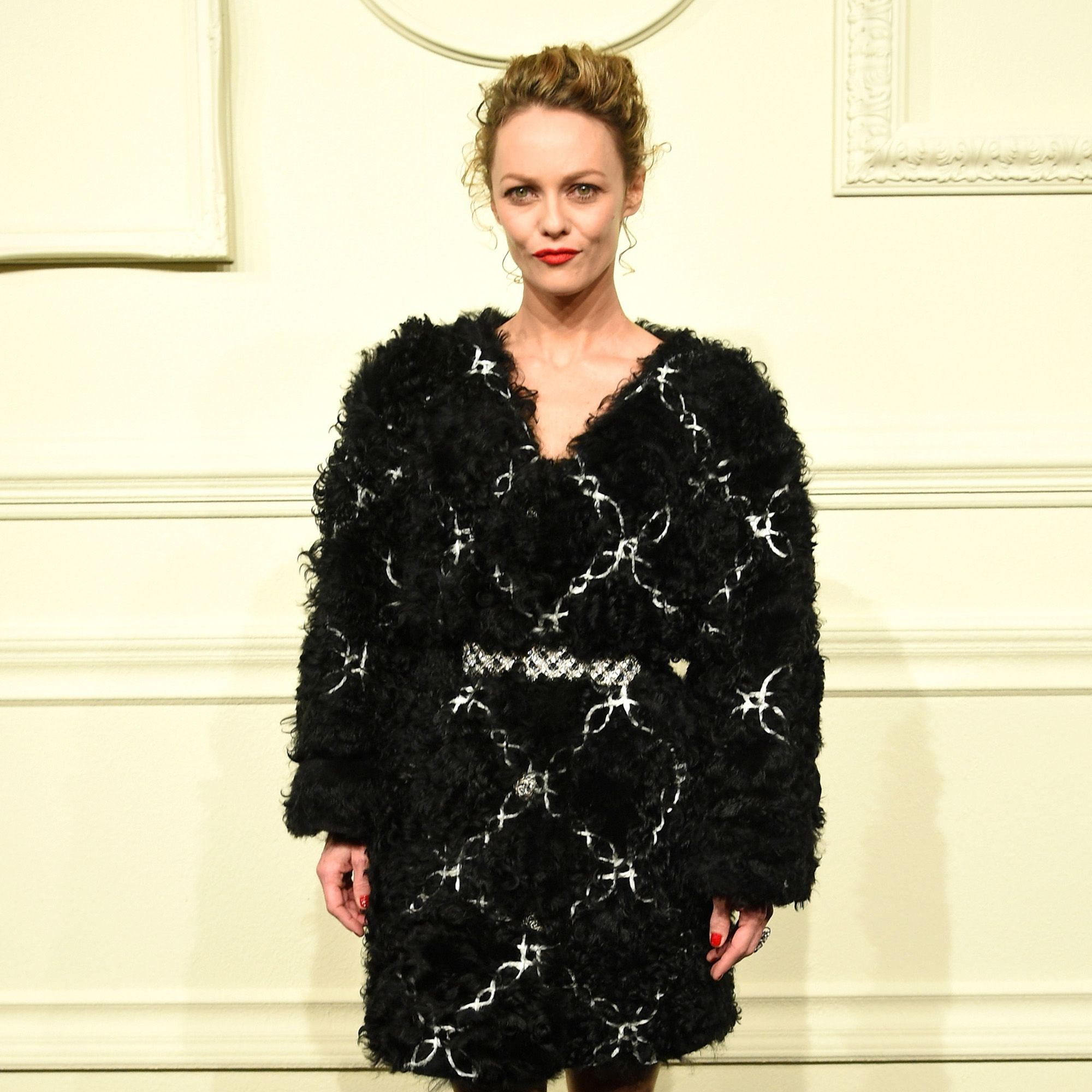 NEW YORK, NY - MARCH 31:  Actress Vanessa Paradis attends the CHANEL Paris-Salzburg 2014/15 Metiers d'Art Collection in New York City at the Park Avenue Armory on March 31, 2015 in New York City.  (Photo by Andrew H. Walker/WireImage)