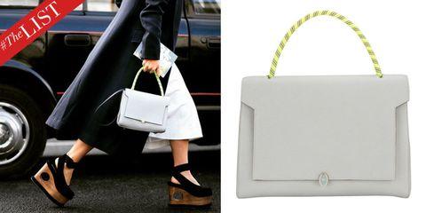 Footwear, Shoe, White, Bag, Style, Fashion accessory, Fashion, Luggage and bags, Shoulder bag, Street fashion,