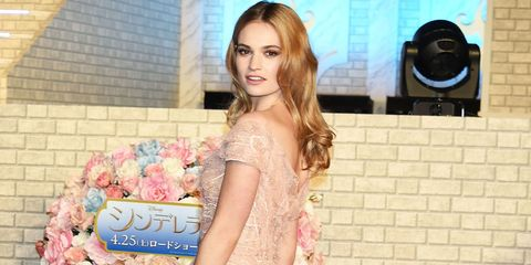 The Best of Lily James' 'Cinderella' Style