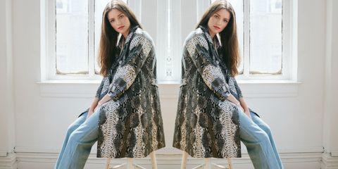 Sleeve, Textile, Pattern, Style, Dress, Bag, Fashion, Street fashion, Denim, One-piece garment,