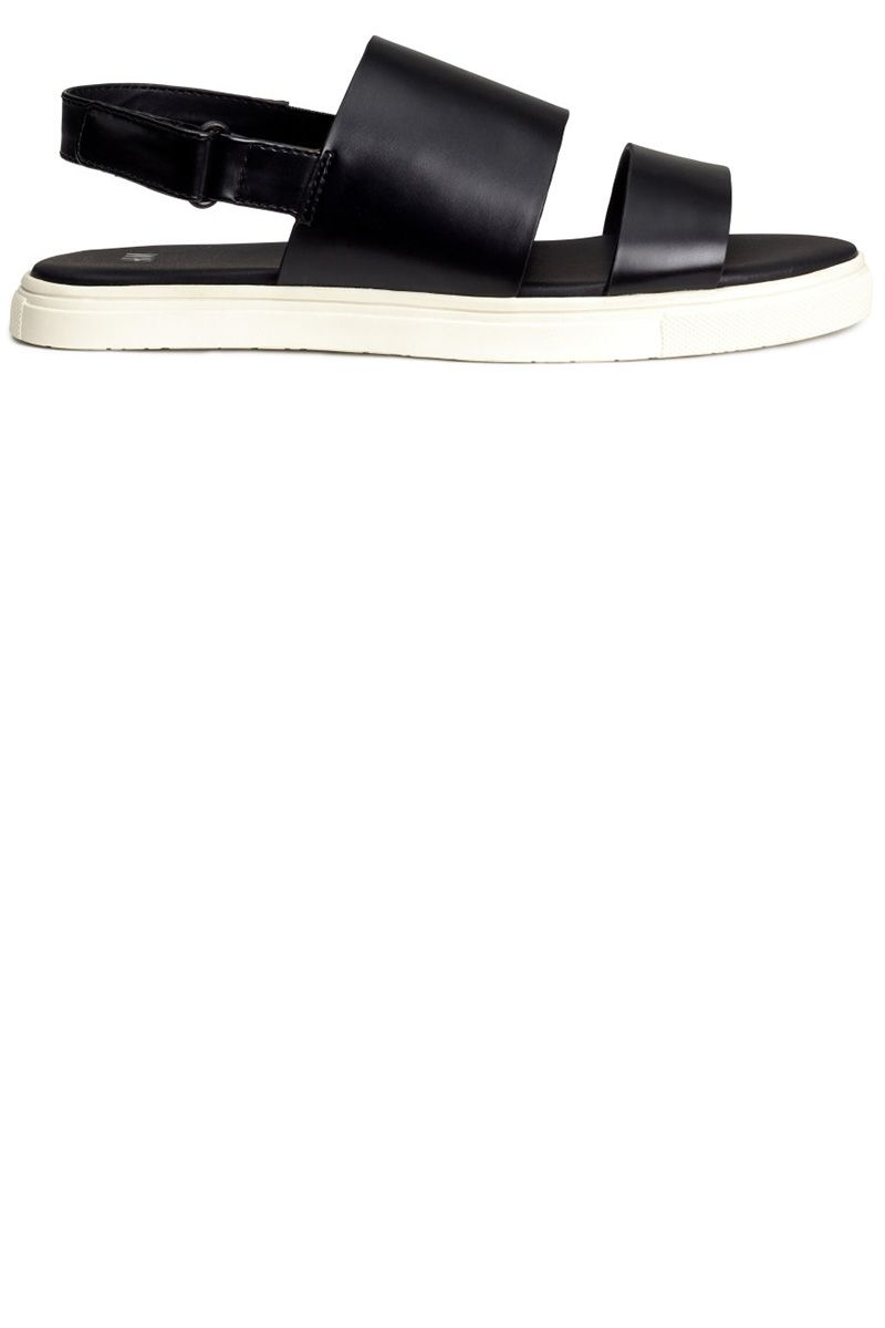 """<strong>H&M</strong> sandals, $34.95, <a target=""""_blank"""" href=""""http://www.hm.com/us/product/57549?article=57549-A"""">hm.com.</a>"""