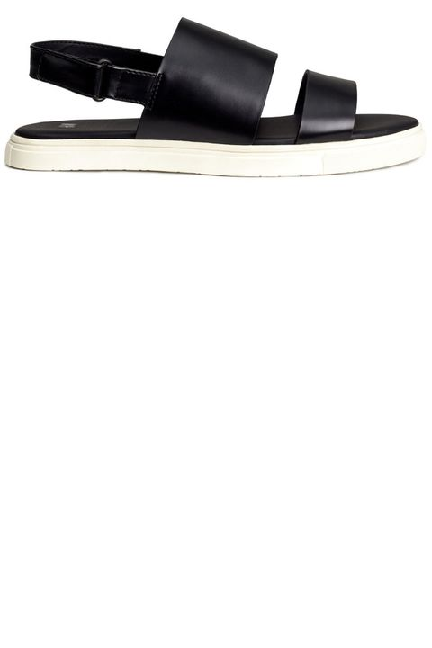 "<strong>H&amp;M</strong> sandals, $34.95, <a target=""_blank"" href=""http://www.hm.com/us/product/57549?article=57549-A"">hm.com.</a>"