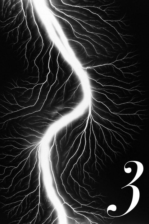 """""""The Lightning Field photographs of <a target=""""_blank"""" href=""""http://www.sugimotohiroshi.com/"""">Hiroshi Sugimoto</a> have such energy and add dramatic tension to a room."""""""