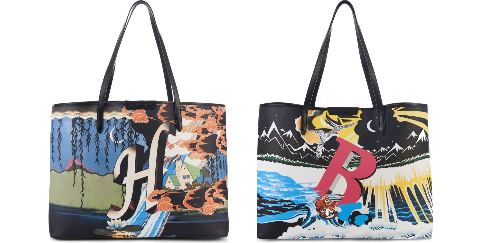 0261046927 Mary Katrantzou Creates Alphabet Bags