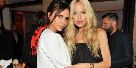 attends David And Victoria Beckham, Along With Barneys New York, Host A Dinner To Celebrate The Victoria Beckham Collection at Fred's at Barneys on April 14, 2015 in Beverly Hills, California.