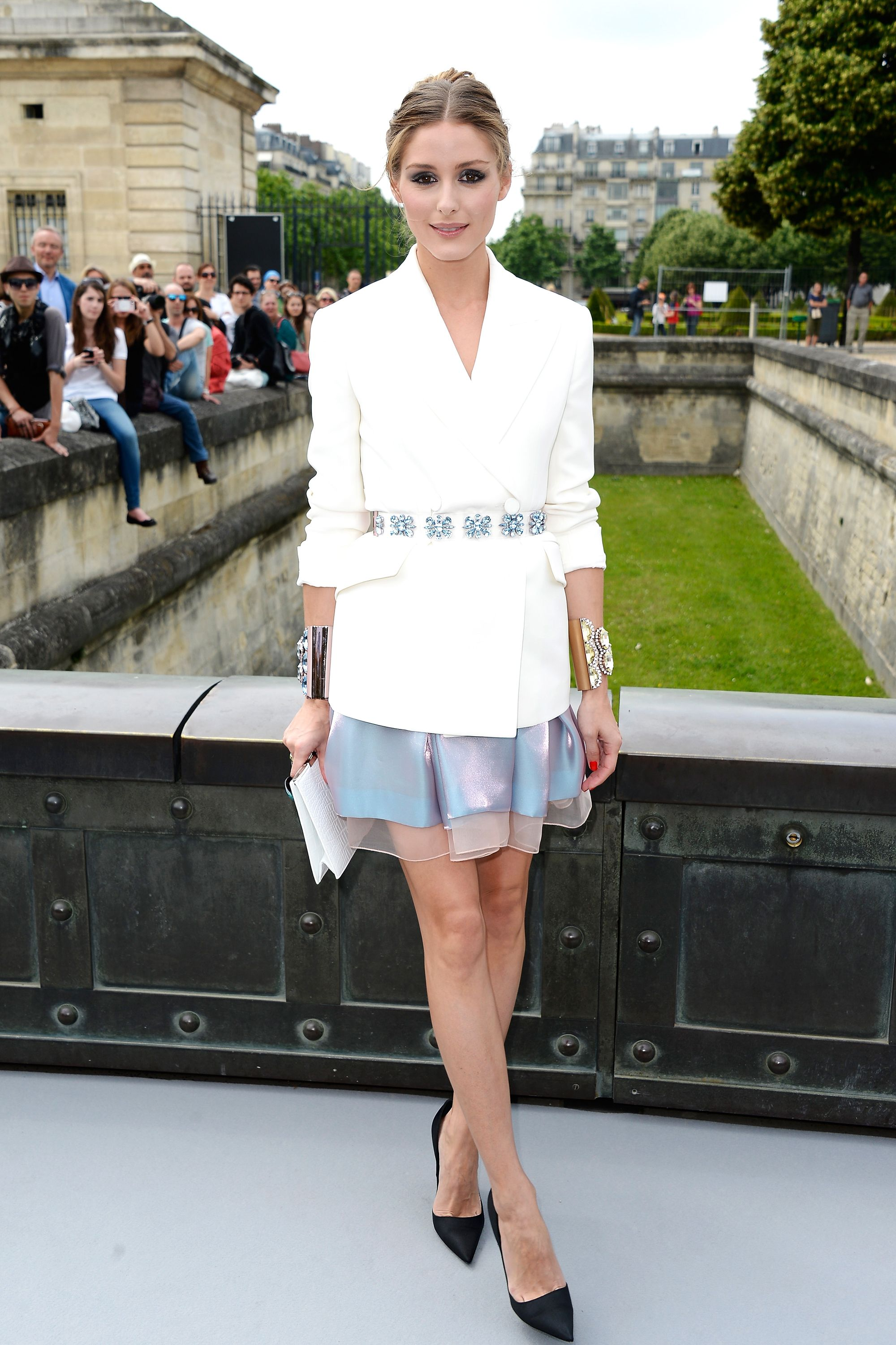 PARIS, FRANCE - JULY 01:  Olivia Palermo attends the Christian Dior show as part of Paris Fashion Week Haute-Couture Fall/Winter 2013-2014 at Hotel Des Invalides on July 1, 2013 in Paris, France.  (Photo by Pascal Le Segretain/Getty Images)